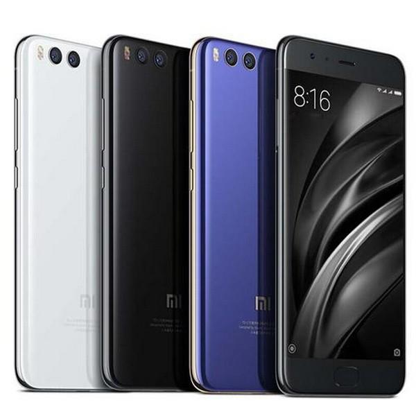 Варианты расцветок Xiaomi Mi6