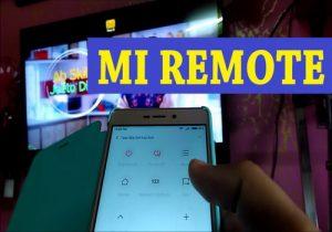 Mi Remote на смартфонах Xiaomi