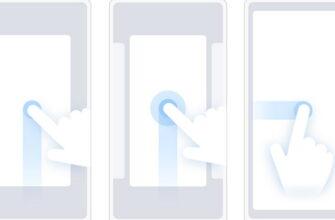 Управление жестами Xiaomi