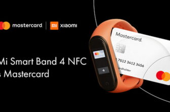 Бесконтактная оплата на Xiaomi Mi Smart Band 4 NFC