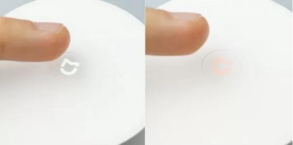 Кнопка включения сенсорной мыльницы Xiaomi